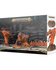 Games Workshop - GAW Warhammer Age of Sigmar - Endless Spells: Fyreslayers Magmic Invocations