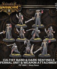 Privateer Press - PIP Warmachine - Infernals - Cultist Band & Dark Sentinels - Unit & Weapon Attachments