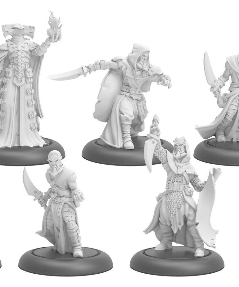 Privateer Press - PIP Warmachine - Infernals - Cultist Band & Dark Sentinels - Unit & Weapon Attachments
