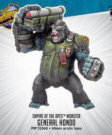 Privateer Press - PIP Monsterpocalypse - Empire of the Apes - General Hondo - Monster