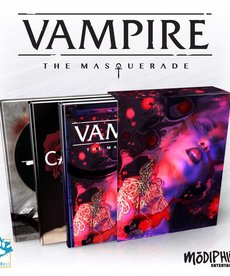 Modiphius Entertainment - MUH Vampire: The Masquerade 5E - Slipcase Set