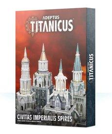 Games Workshop - GAW Adeptus Titaniucs - Scenery/Terrain - Civitas Imperialis Spires