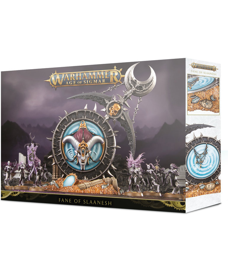 Games Workshop - GAW Warhammer Age of Sigmar - Hedonites of Slaanesh - Fane of Slaanesh