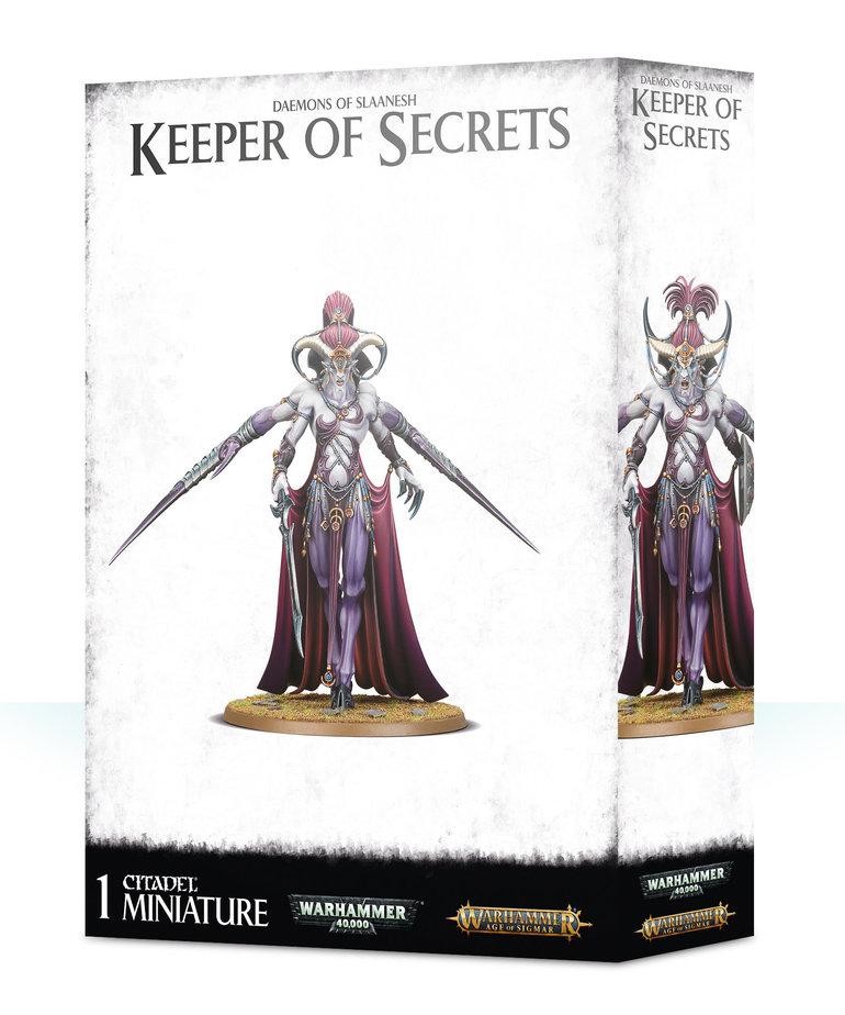 Games Workshop - GAW Warhammer Age of Sigmar - Daemons of Slaanesh - Keeper of Secrets