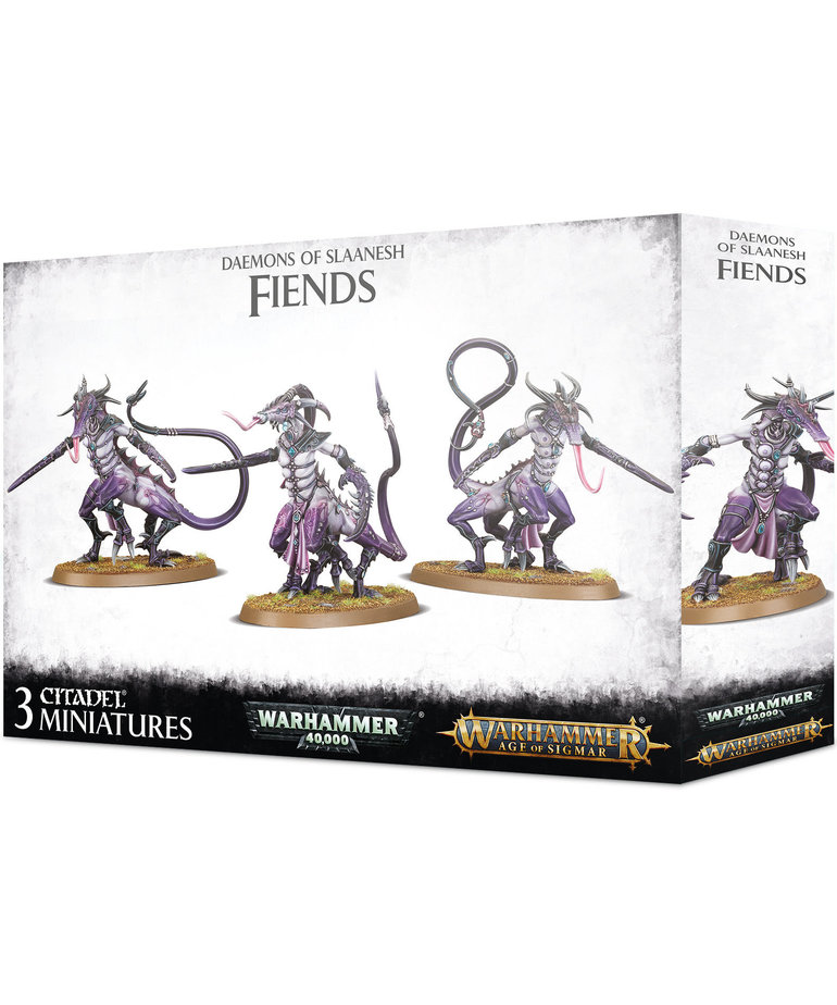 Games Workshop - GAW Warhammer Age of Sigmar - Daemons of Slaanesh - Fiends of Slaanesh