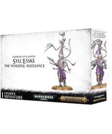 Games Workshop - GAW Warhammer Age of Sigmar - Daemons of Slaanesh - Syll'esske, The Vengeful Allegiance
