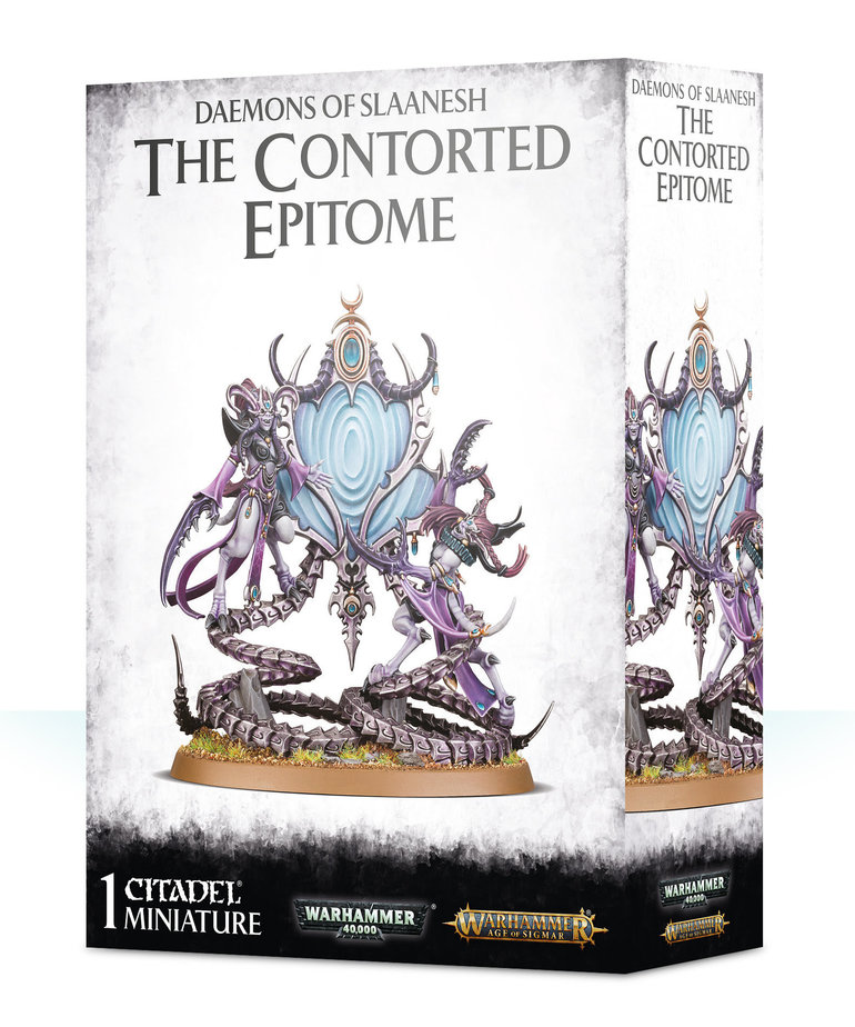 Games Workshop - GAW Warhammer Age of Sigmar - Daemons of Slaanesh - The Contorted Epitome