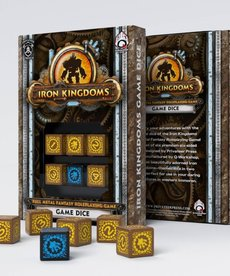 Q-Workshop - QWO Iron Kingdoms: Full Metal Fantasy Roleplaying Game - Game Dice