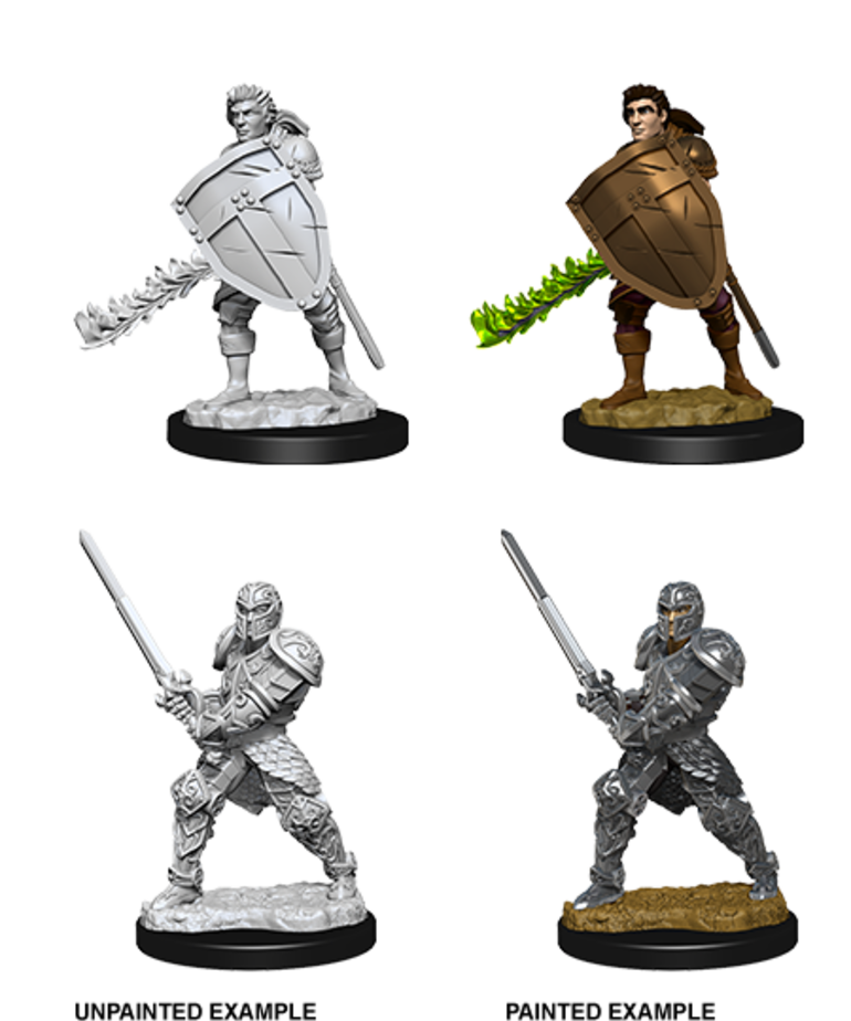 WizKids - WZK D&D - Nolzur's Marvelous Minitatures - Human Fighter (Male)