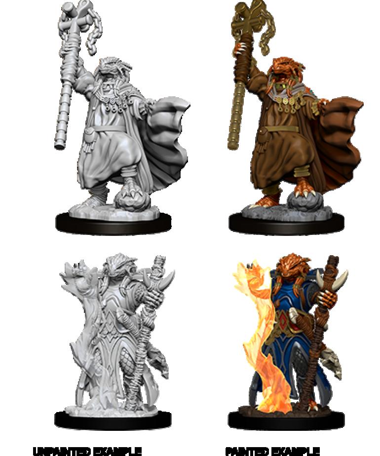 WizKids - WZK D&D - Nolzur's Marvelous Miniatures - Dragonborn Sorcerer (Female)