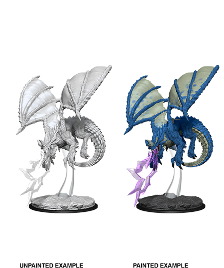 WizKids - WZK D&D - Nolzur's Marvelous Miniatures - Young Blue Dragon
