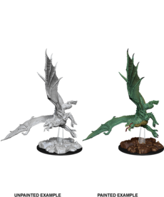 WizKids - WZK D&D - Nolzur's Marvelous Miniatures - Young Green Dragon