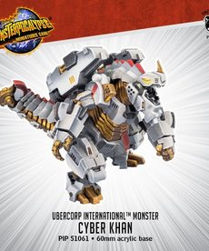 Privateer Press - PIP Monsterpocalypse - UberCorp International - Cyber Khan - Monster