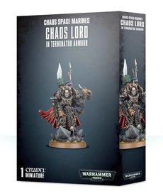 Warhammer 40K Warhammer 40K - Chaos Space Marine - Chaos Lord in Terminator Armour