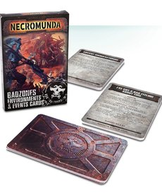 Games Workshop - GAW Necromunda - Badzones Environments & Events Cards