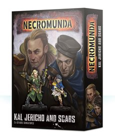 Games Workshop - GAW Necromunda - Kal Jericho & Scabs