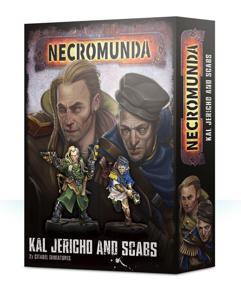 Games Workshop - GAW Necromunda - Kal Jericho & Scabs