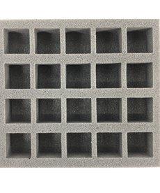 Battle Foam - BAF Monsterpocalypse - 20 Units Foam Tray (PP.5-1.5) BLACK FRIDAY NOW