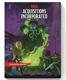 Wizards of the Coast - WOC D&D 5E - Acquisitions Incorporated - Sourcebook