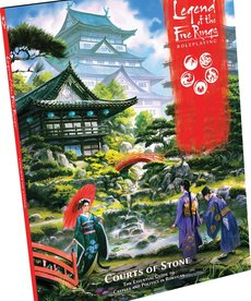 Fantasy Flight Games - FFG Legend of the Five Rings: Roleplaying - Courts of Stone - Sourcebook
