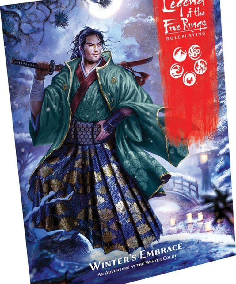 Fantasy Flight Games - FFG Legend of the Five Rings: Roleplaying - Winter's Embrace - Adventure
