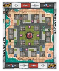Privateer Press - PIP Monsterpocalypse - Accessories - Isle of Annihilation Playmat (NO REBATE)