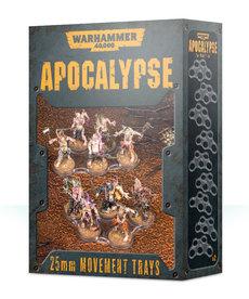 Games Workshop - GAW Warhammer 40K: Apocalypse - 25mm Movement Trays