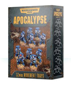 Games Workshop - GAW Warhammer 40K: Apocalypse - 32mm Movement Trays