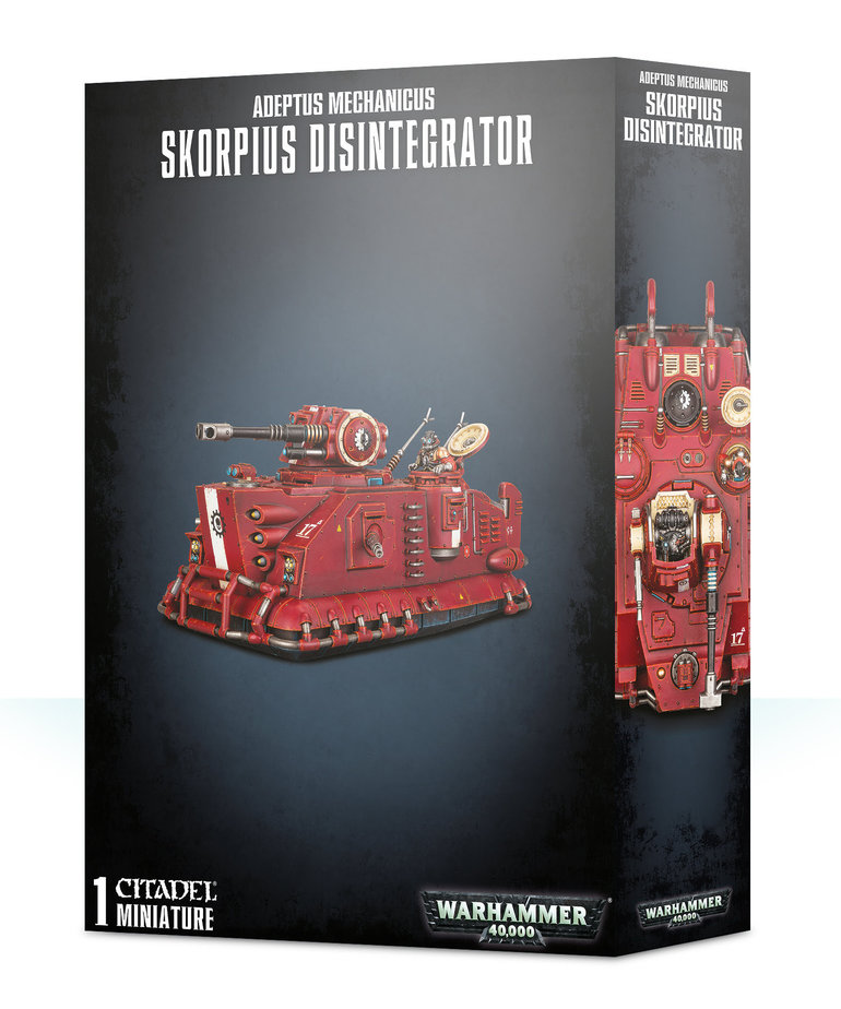 Games Workshop - GAW Warhammer 40K - Adeptus Mechanicus - Skorpius Disintegrator