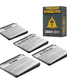 Games Workshop - GAW Warhammer 40K: Apocalypse - Command Assets Cards