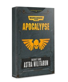 Games Workshop - GAW Warhammer 40K: Apocalypse - Datasheet Cards: Astra Militarum
