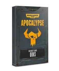 Games Workshop - GAW Warhammer 40K: Apocalypse - Datasheet Cards: Orks