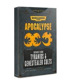 Games Workshop - GAW Warhammer 40K: Apocalypse - Datasheet Cards: Tyranids & Genestealer Cults