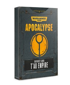 Games Workshop - GAW Warhammer 40K: Apocalypse - Datasheet Cards: T'au Empire