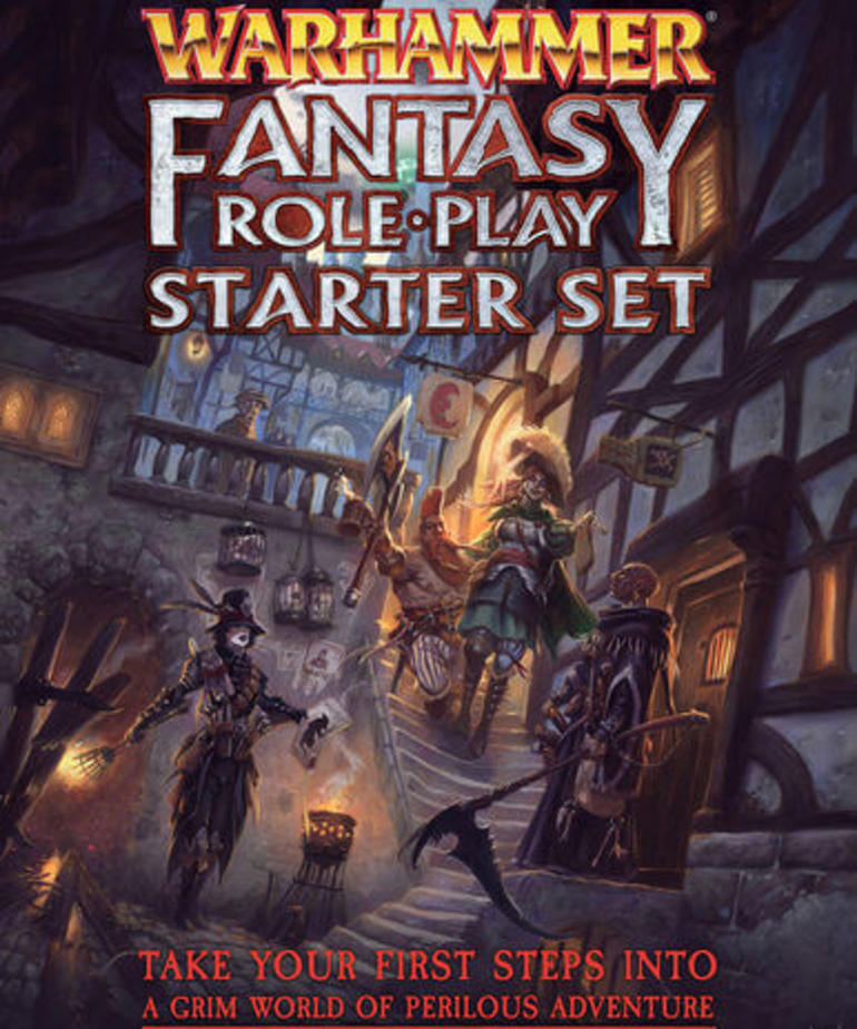 Cubicle 7 - CB7 Warhammer Fantasy Roleplay 4E - Starter Set