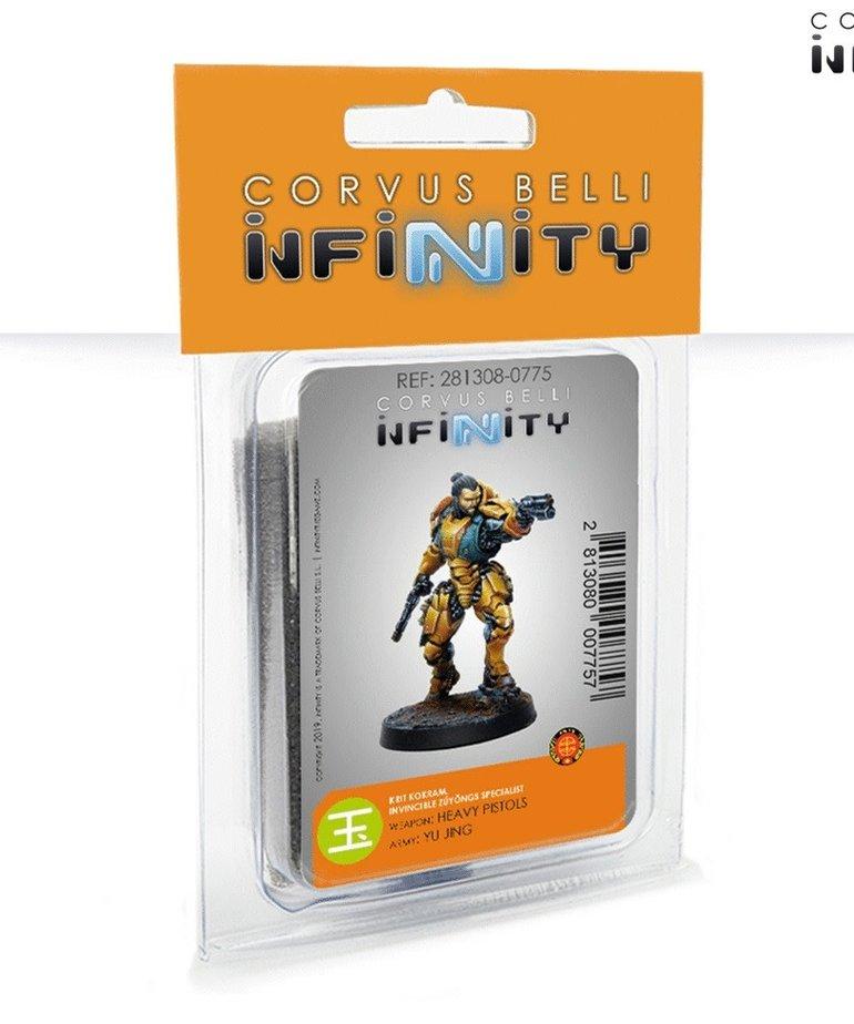 Corvus Belli - CVB Infinity - Yu Jing - Krit Kokram - Invincible Zúyŏngs Specialist