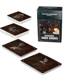 Games Workshop - GAW Datacards - Chaos Knights