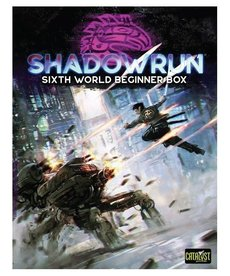 Catalyst Game Labs - CYT Shadowrun 6E - Sixth World Beginner Box