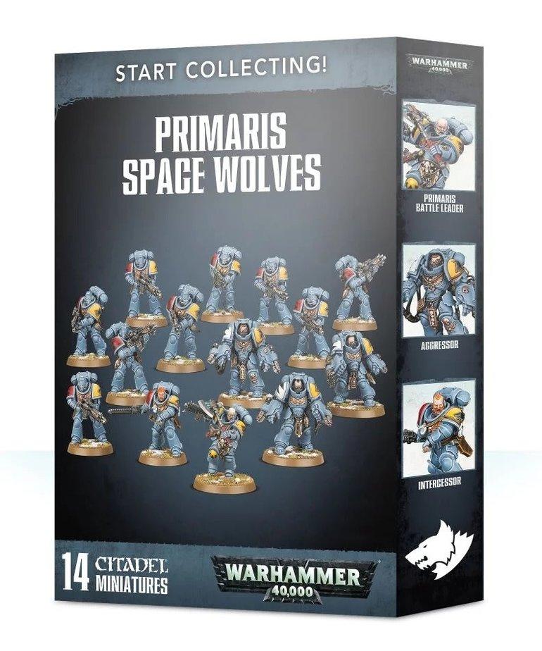 Games Workshop - GAW Warhammer 40K - Start Collecting!: Primaris Space Wolves