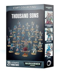 Games Workshop - GAW Warhammer 40K - Start Collecting!: Thousand Sons
