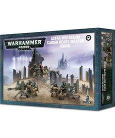 Games Workshop - GAW Warhammer 40K - Astra Militarum - Cadian Heavy Weapon Squad