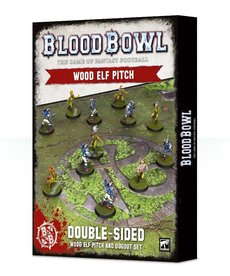 Games Workshop - GAW Blood Bowl - Wood Elf Team - Wood Elf Pitch