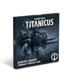 Games Workshop - GAW Adeptus Titanicus - Command Terminal Pack: Acastus Knight