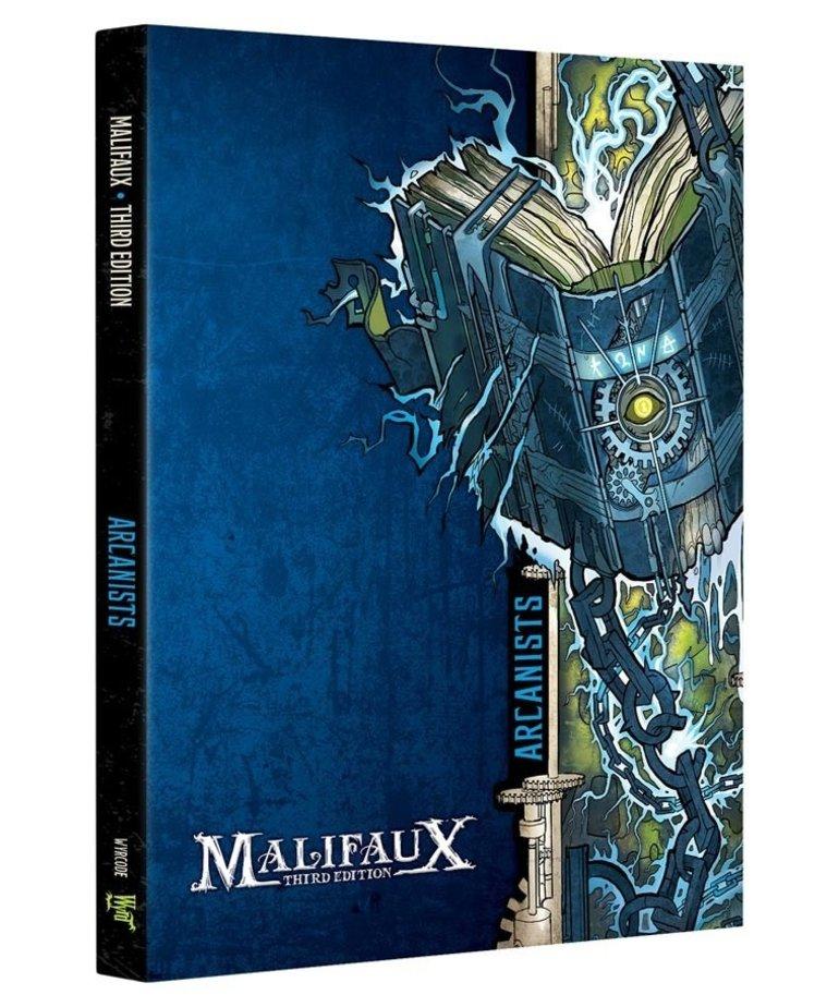 Wyrd Miniatures - WYR Malifaux 3E - Arcanists - Faction Book