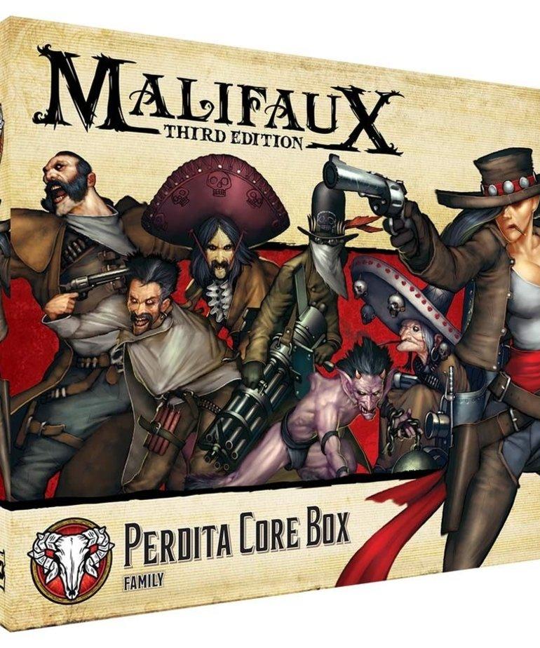 Wyrd Miniatures - WYR Malifaux 3E - Guild - Perdita Core Box