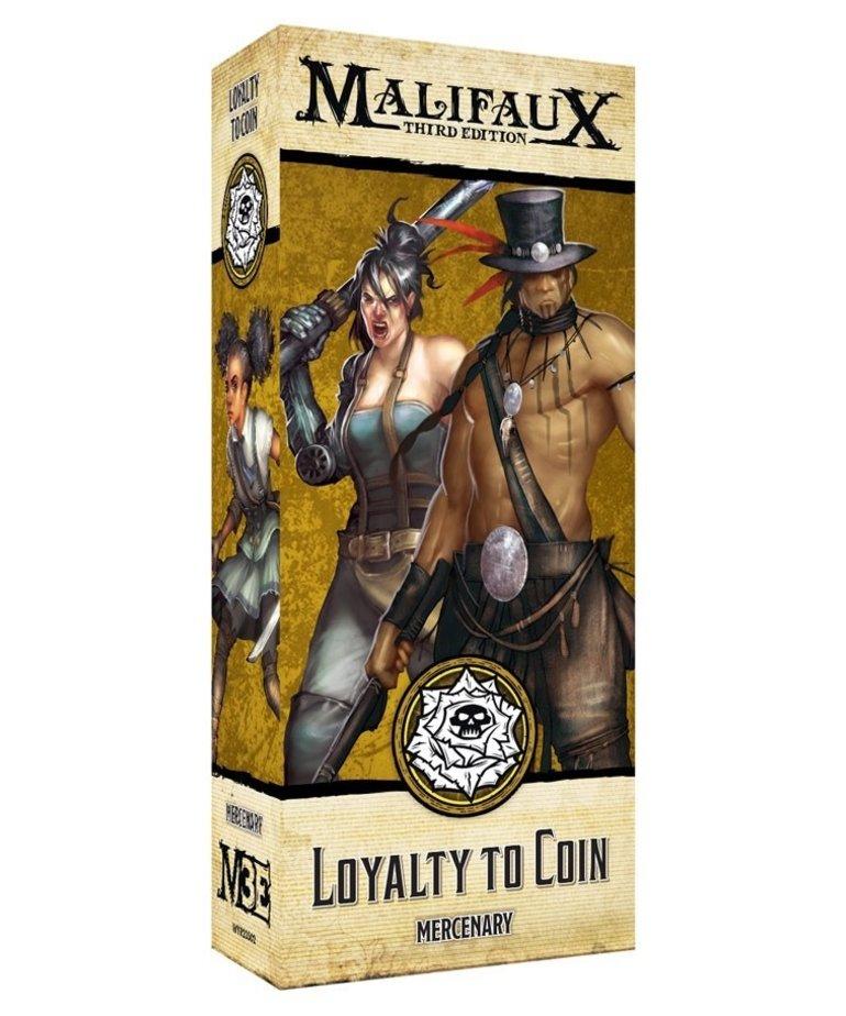 Wyrd Miniatures - WYR Malifaux 3E - Outcasts - Loyalty to Coin - Mercenary