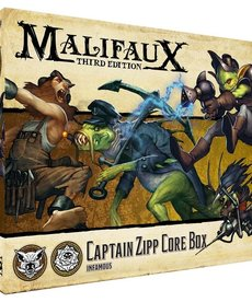 Wyrd Miniatures - WYR Malifaux 3E - Bayou/Outcasts - Captain Zipp Core Box - 08/08/2019