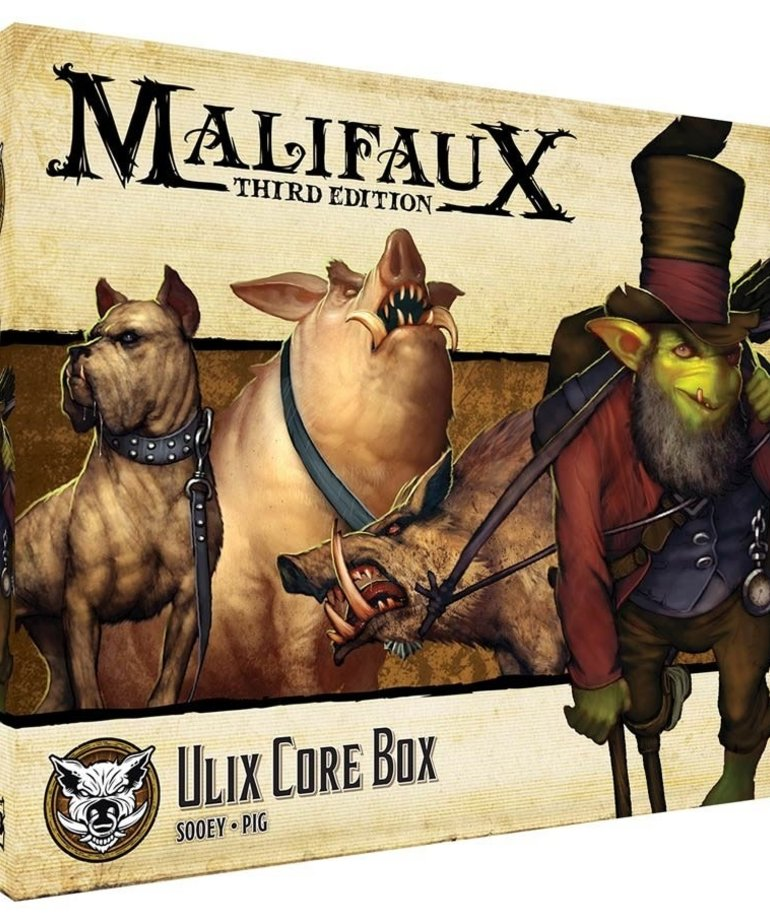 Wyrd Miniatures - WYR CLEARANCE - Malifaux 3E - Bayou - Ulix Core Box - 08/08/2019