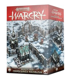 Games Workshop - GAW Warhammer Age of Sigmar: Warcry - Ravaged Lands - Corpsewrack Mausoleum