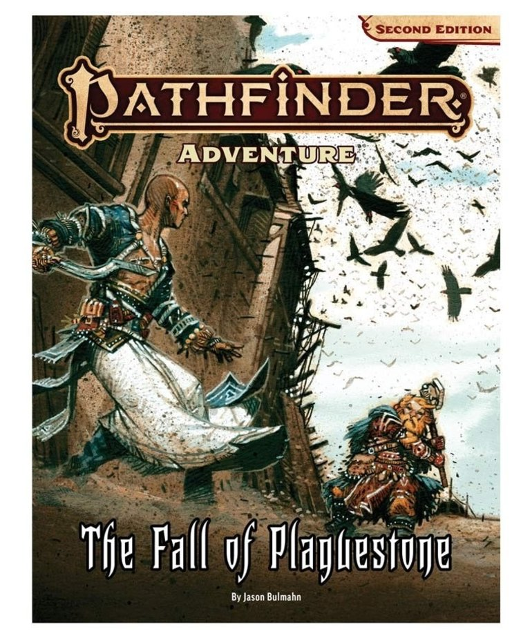 Paizo, Inc. - PZO Pathfinder 2E - Adventure - The Fall of Plaguestone